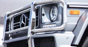 В Тольятти Mercedes задавил сотрудника ГИБДД