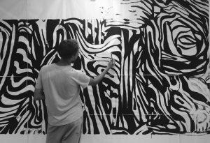 Открытие выставки «Вьюности»