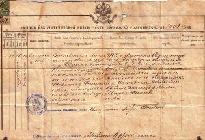 В горадминистрации покажут архивные документы